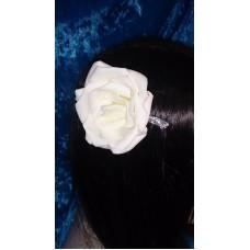 Гребешок в волосы SvetikFantasy, Цветок,  Цвет: айвори  №4379.176
