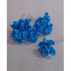 Шпильки Розочки d:3см  латекс Цена: за 1 штуку №4232.27