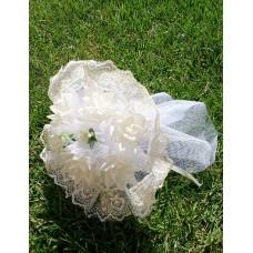 Букет невесты Айвори (ткань)  №4257.190