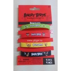 Браслет Angry Birds 4штуки №4269.130