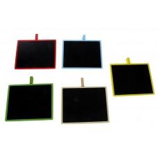 Доска для записей на прищепке, цвета в ассортименте №4055.51