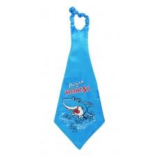 "Галстук гигант ""Акула Бизнеса"", размер: 25х70см  №3651.76"