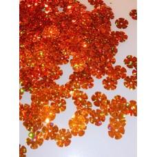 """Конфетти """"Цветочек"""" оранжевый  14 гр №3737.25"""
