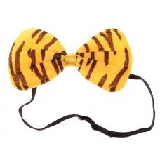 Бант тигровый 11х5 см, текстиль №3754.48