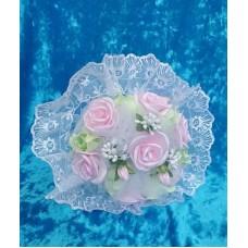 Букет невесты розовый/мятный SvetikFantasy №3533_5.440