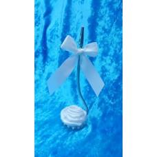 Держатель для карточек, фото, записок SvetikFantasy, цвет:белый,  Размер:15см №3545.180