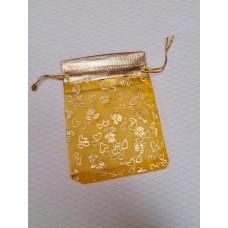 Мешочек для лепестков, конфетти, сувениров, подарков и т.п. цвет: как на картинке, 8х10,5 см №3595.7