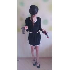 Платье чёрное (размер 38-42) №11011505.900