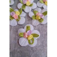Значок - цветочки  для гостей  SvetikFantasy Размер: 4  см №3289.23