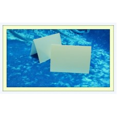 Карточки для гостей SvetikFantasy, цвет: глянцевый, айвори   Размер: 7 х 10 см №3293.12