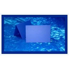 Карточки для гостей SvetikFantasy, цвет: синий в рубчик   Размер: 7 х 10 см №3295.12