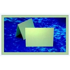 Карточки для гостей SvetikFantasy, цвет: фисташковый с перламутром   Размер: 7 х 10 см №3296.12