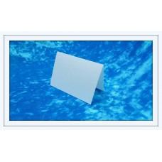 Карточки для гостей SvetikFantasy, цвет: перламутровый, белый   Размер: 7 х 10 см №3299.12