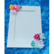 Рамка для фото 10х15 см SvetikFantasy, цвет: белый №2967.289