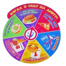 "Магнит - рулетка ""Когда я сяду на диету"" 9,5 х 10,5 см №3033.33"