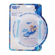 Набор: тарелка, ложка, вилка Sochi 2014 5х20х25см №2585.368