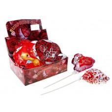 Шар-самодув сердечки с палочками, разные виды Размер: 6х12х22см Цена за 1 штуку №2661.16