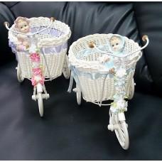 """""""Сын-Дочь"""": Велосипеды, 2 штуки, размер одного:  19х33х25,5 см,  пластик №2731.2500"""