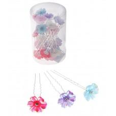 Шпильки цветок перелив Цена: за 1 штуку Цвет  ассорти №2301.9