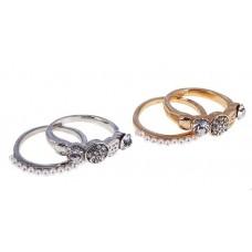 Кольцо , цвет в ассортименте, размер 17,18 №2321.46