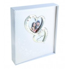 """Фотоальбом на 100 фото 13х18 см в коробке """"Наша свадьба"""" 5х23х30см №2384.372"""
