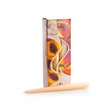"""Свеча """"Персик"""", ароматизированная, 25 см, время горения одной 7 ч, 2 штуки №2451.40"""
