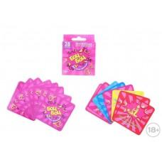 """Игра с карточками """"Боц-Боц"""": 28 карточек, инструкция Размер: 1.2х6.6х6.6 см №2519.35"""