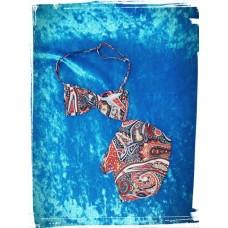 Комплект галстук-бабочка и платок в карман SvetikFantasy  №2521.488