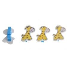 """Прищепки декор """"Жирафики"""" №5547.31"""