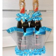 """Корзина под шампанское """"Корона""""  №5617.100"""