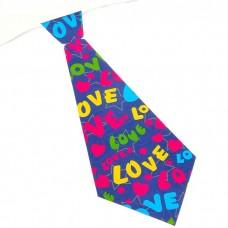 Карнавальный галстук Love №5649.10