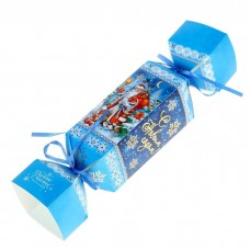 """Складная коробка-конфета """"Дед Мороз"""" №5831.40"""