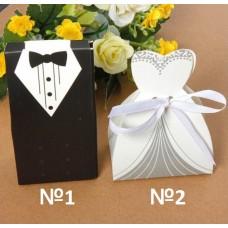 Коробка сборная Жених, Невеста №6356