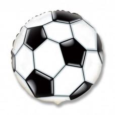 """Шар фольга 18"""" Футбольный мяч"""