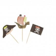 Шпажки для канапе Пират