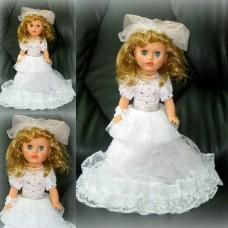 Кукла Невеста Прелесть в белом платье 40см SvetikFantasy №710.1470