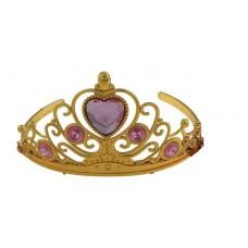 """Корона """"Сердце"""", 4 капельки, золотистая, диадема 11х11х7 №2039.30"""