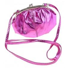 """Сумочка  """"Милли"""" с ремешком, розовая  17х16,5 см №1369.117"""