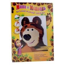"Мозаика Маша и медведь ""Медведь"", большая пластик 40,5х30х3,5 см №1313.398"