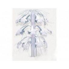 Каскад на стол Цветы белые 35,7 см №5.70