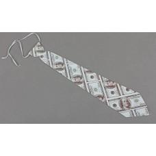 Галстук доллар 8х38см картон №349.9