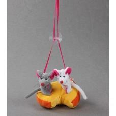 Подвеска мышка на сыре №183.25