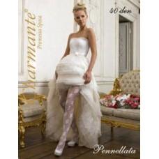 Колготки SP PENNELLATA 40 Цвет: белый/bianco  Размер: S/M, L/XL №2068.398