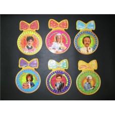 Комплект медалей 6 штук 12см №209.25