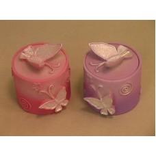 Сувенир шкатулка для колец розовая (361) №98.128
