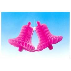 Колокольчик двойной розовый 20см №15.47