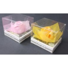 Полотенце махровое роза п/к 20х20см №292008.65