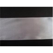 Лента атласная 50мм белая №24.180 (Цена за 1 метр)