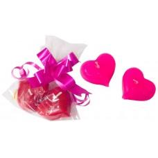 Набор Два сердечка в пакетике (без бантика) Размер: 5х7,5х2см №1923482.50