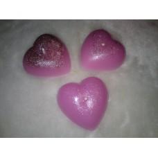 Набор 3 сердечка в пакетике Розовые  №202.112